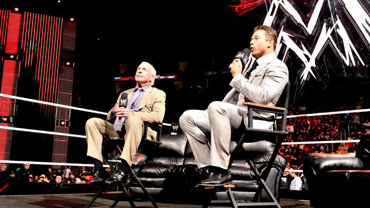 Image result for the miz ric flair