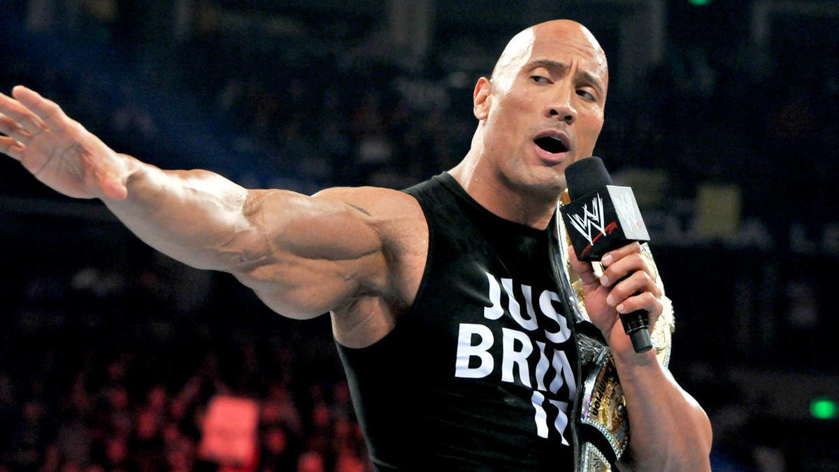 wwe courting the rock to return for smackdown 1000 fox sports
