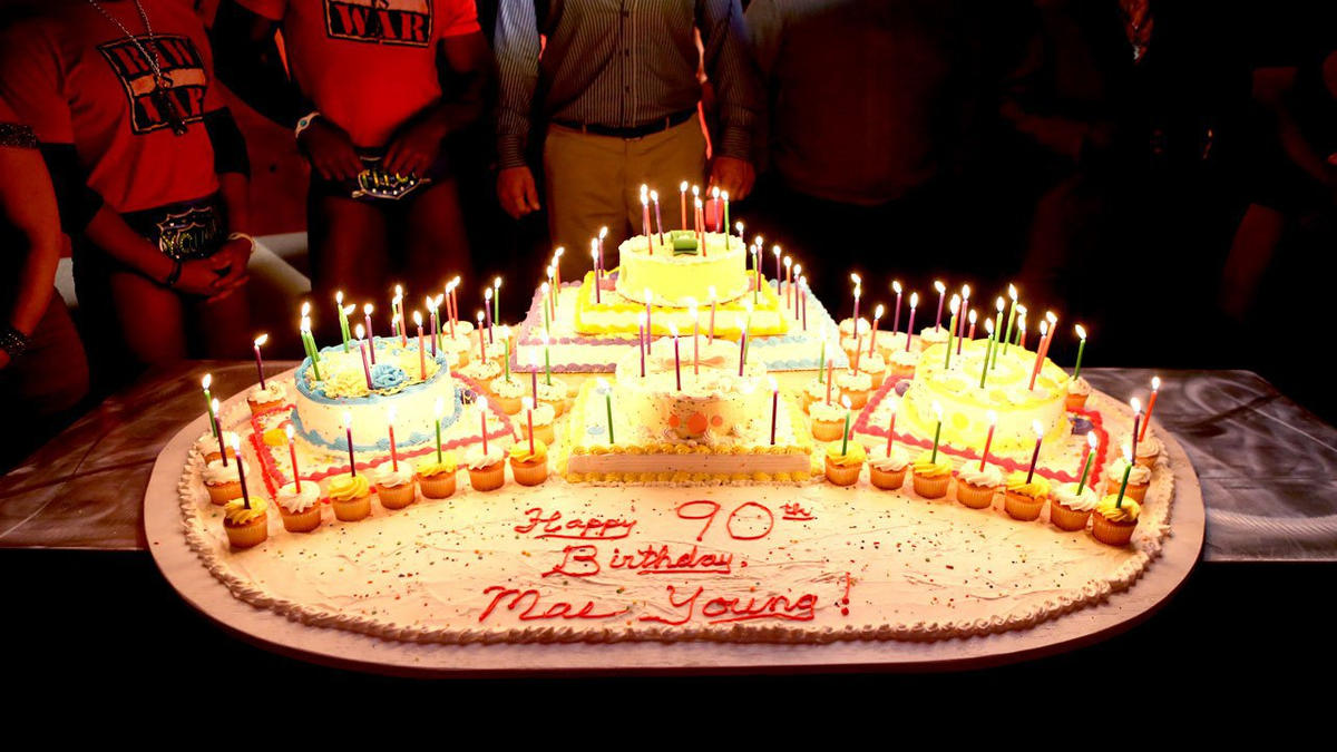 Mae Youngs birthday celebration photos WWE