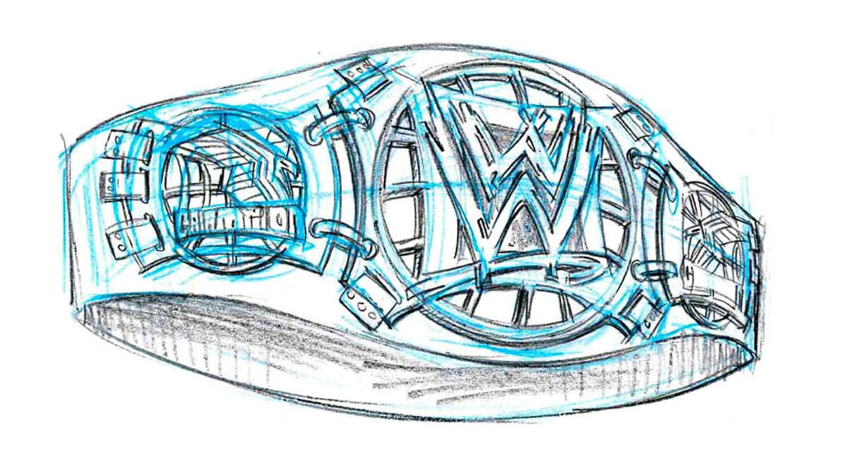alternate wwe title designs revealed photos wwe
