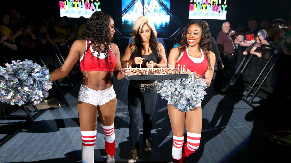 John Cena celebrates his birthday in the ring photos WWE