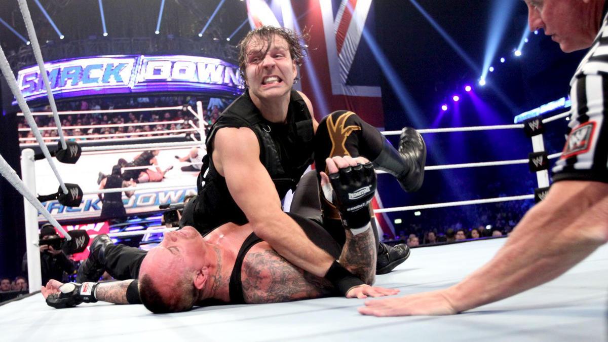 Resultado de imagem para Dean ambrose vs. taker