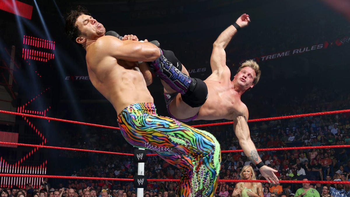 Y2J comes out swinging (or kicking).