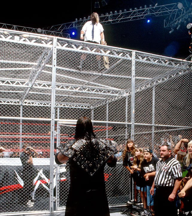 Mankind vs. The Undertaker - Hell in a Cell Match: King of the Ring 1998:  photos | WWE