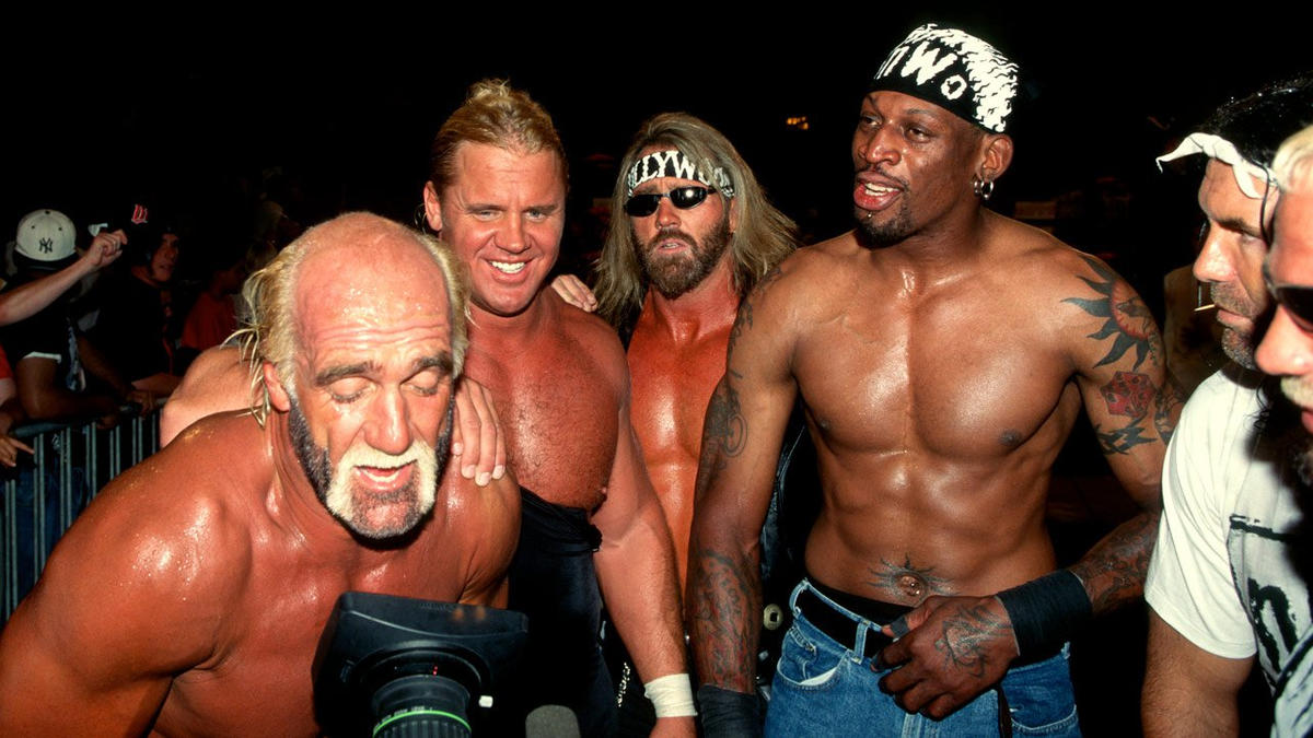 Dennis Rodman in WCW photos