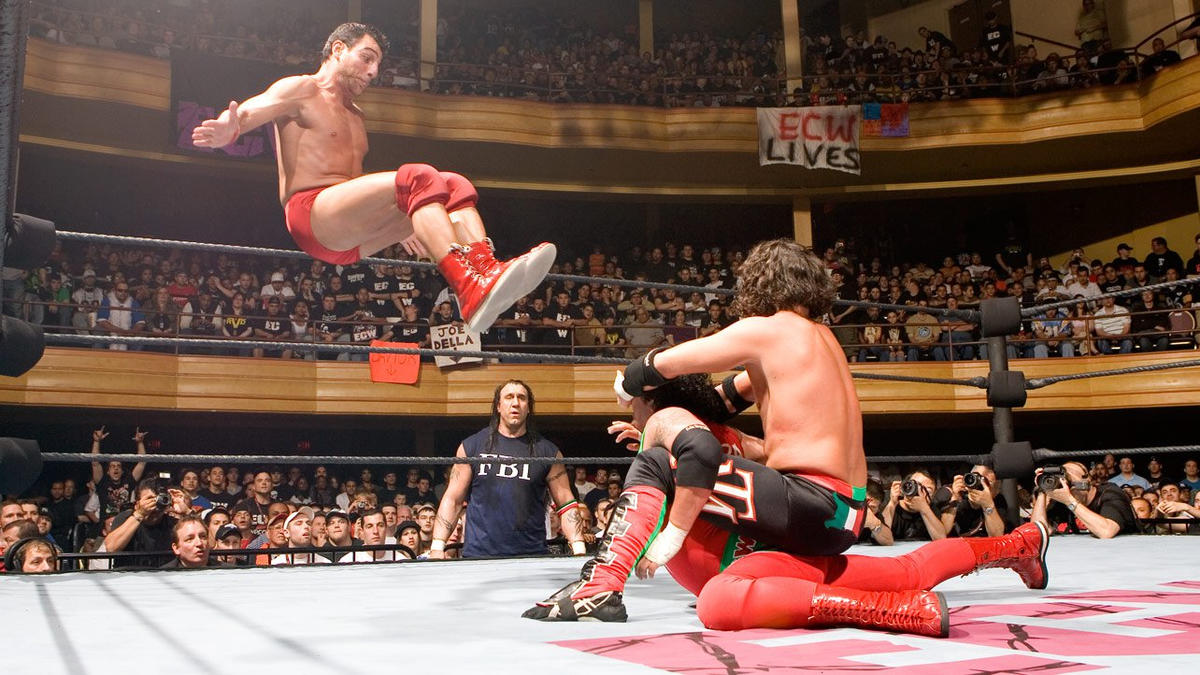 TJR Retro: WWE ECW One Night Stand 2006 Review (RVD vs. Cena) -  TJRWrestling - WWE, AEW News, TV Reviews, PPVs, More!