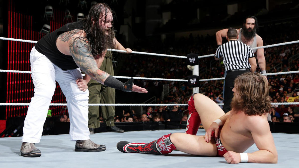 Wyatt offers Bryan his hand in a gesture of mercy.