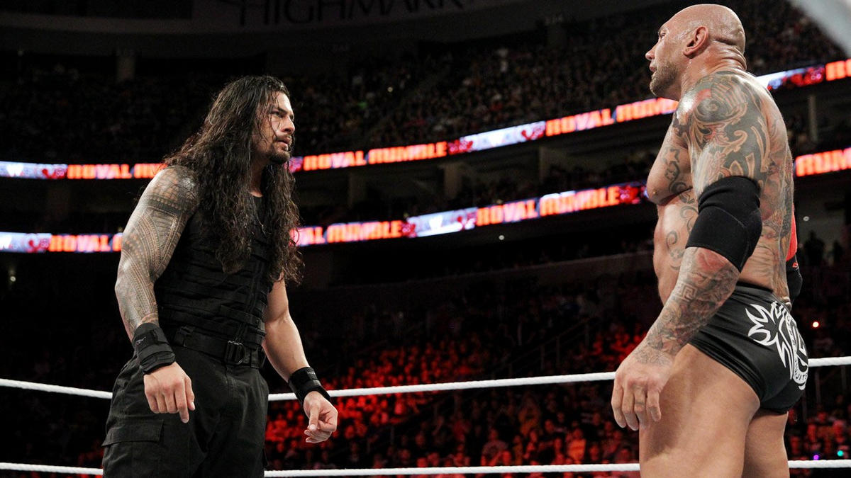 The 2014 Royal Rumble Match came down to Roman Reigns and Batista.