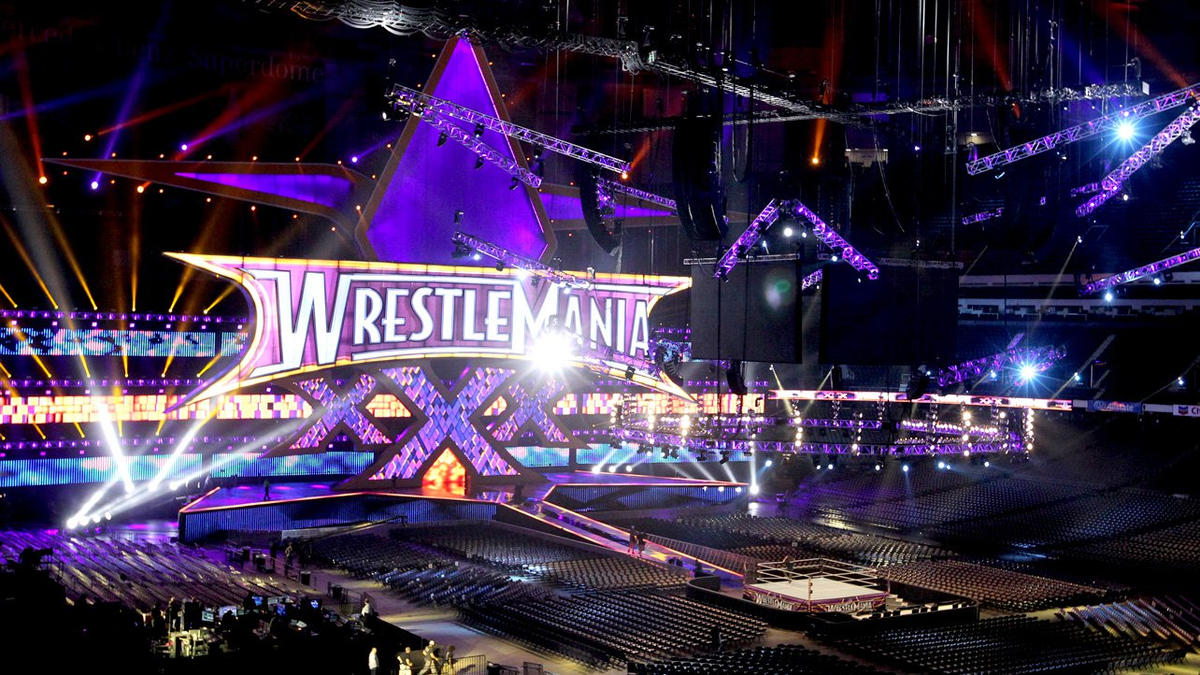 An exclusive look at the WrestleMania 30 set: photos   WWE