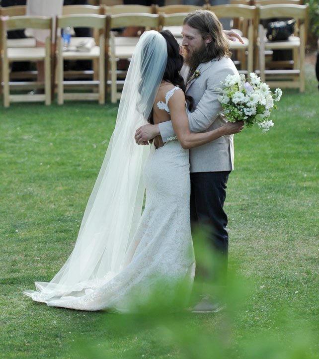 Wwe brie bella wedding