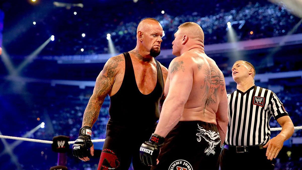 Reason The Undertaker Lost WWE Wrestlemania Streak To Brock Lesnar 2