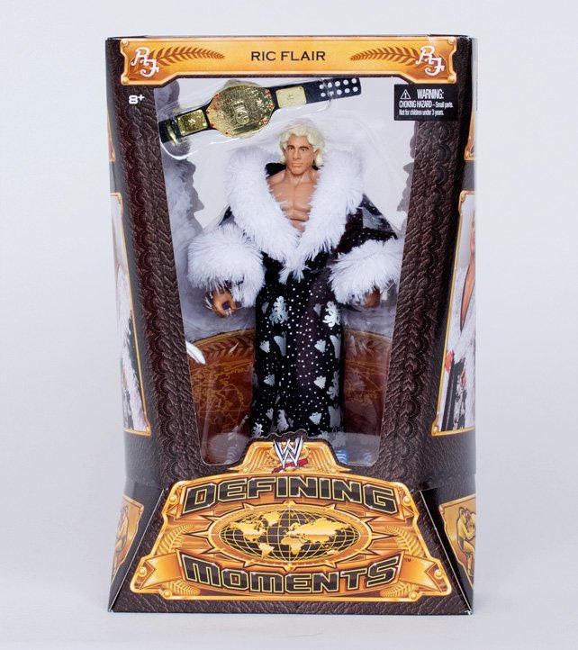 WWE Mattel Elite Ric Flair Defining Moments Wrestling Figure W// Robe