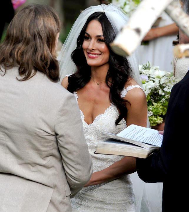 Brie Bella Exchange Wedding Vows Wwe Photo