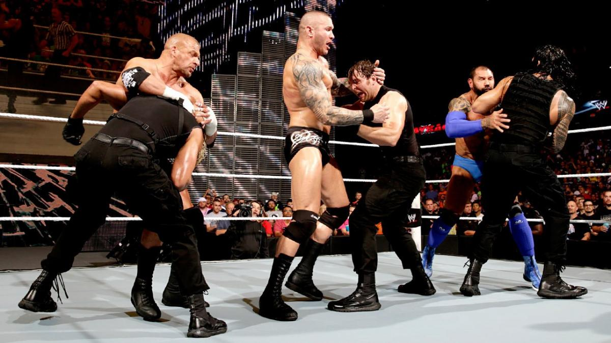 The Shield vs. Evolution — No Holds Barred Elimination Match: photos   WWE