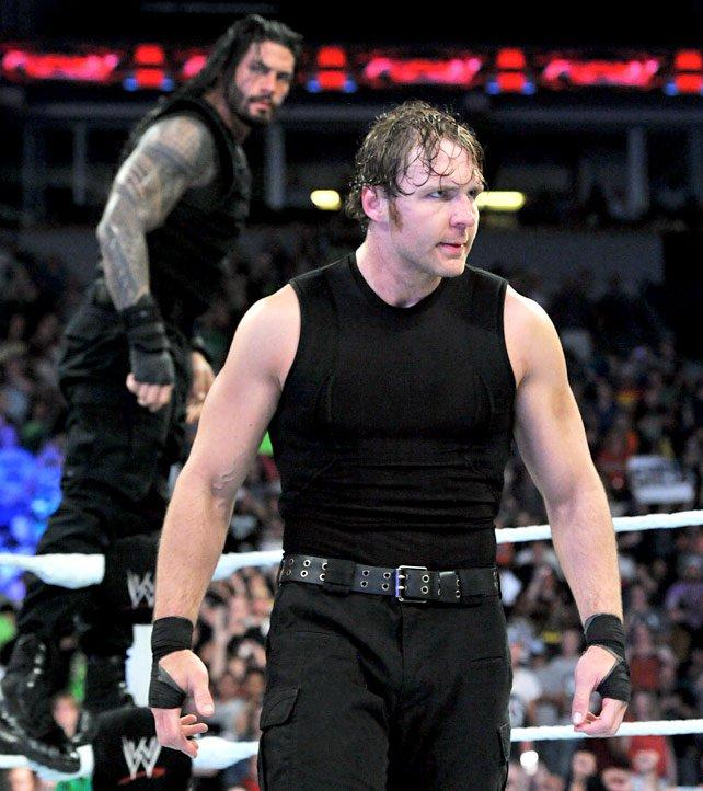 John Cena Roman Reigns Dean Ambrose Vs The Wyatt Family Photos