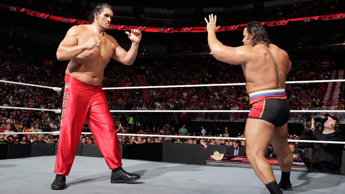 The great khali vs rusev photos wwe wwe photo voltagebd Image collections