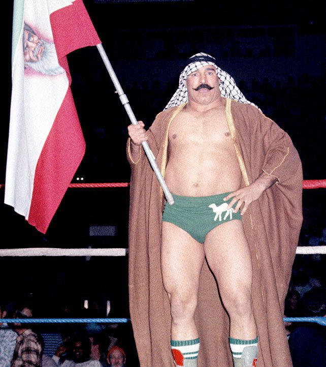 Image result for iron sheik wwf flag
