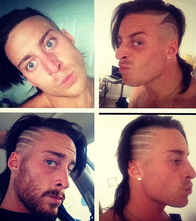 Enzo Amores Outrageous Hairstyles Photos Wwe