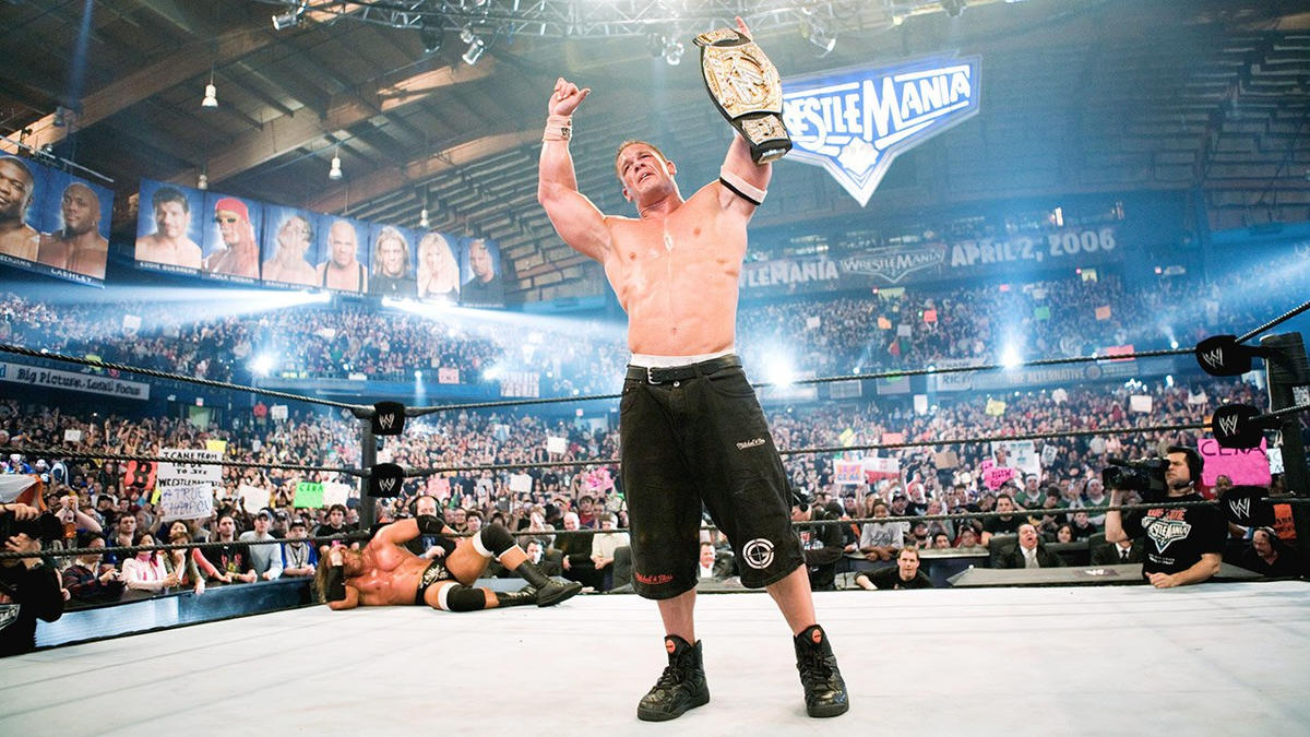 John Cena's WrestleMania history: photos | WWE