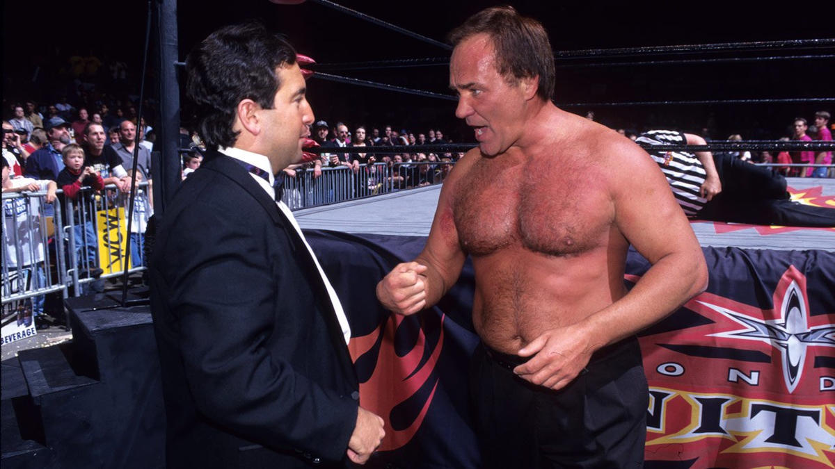 """""""The Living Legend"""" Larry Zbyszko in WCW."""
