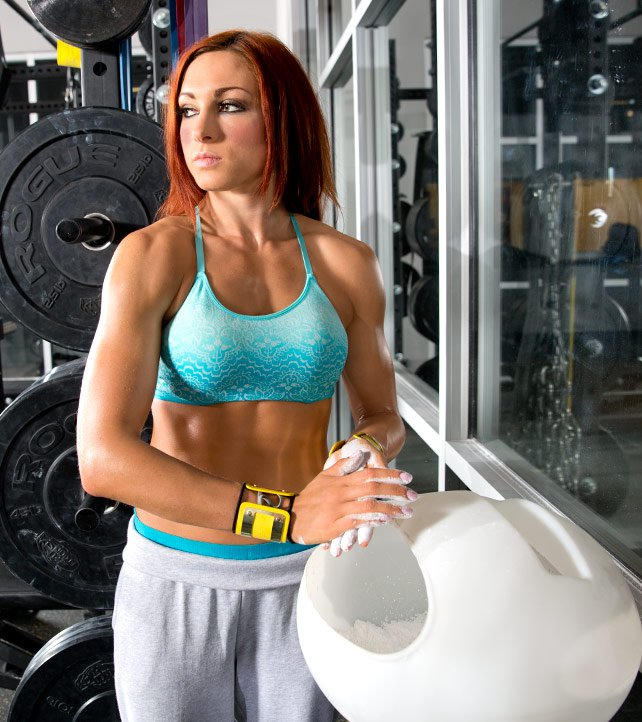 Becky Lynch trains at the WWE Performance Center: photos   WWE