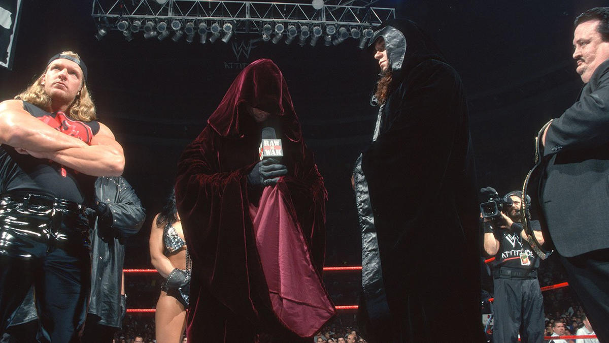 The Higher Power of The Corporate Ministry finally revealed himself on Raw in June 1999.