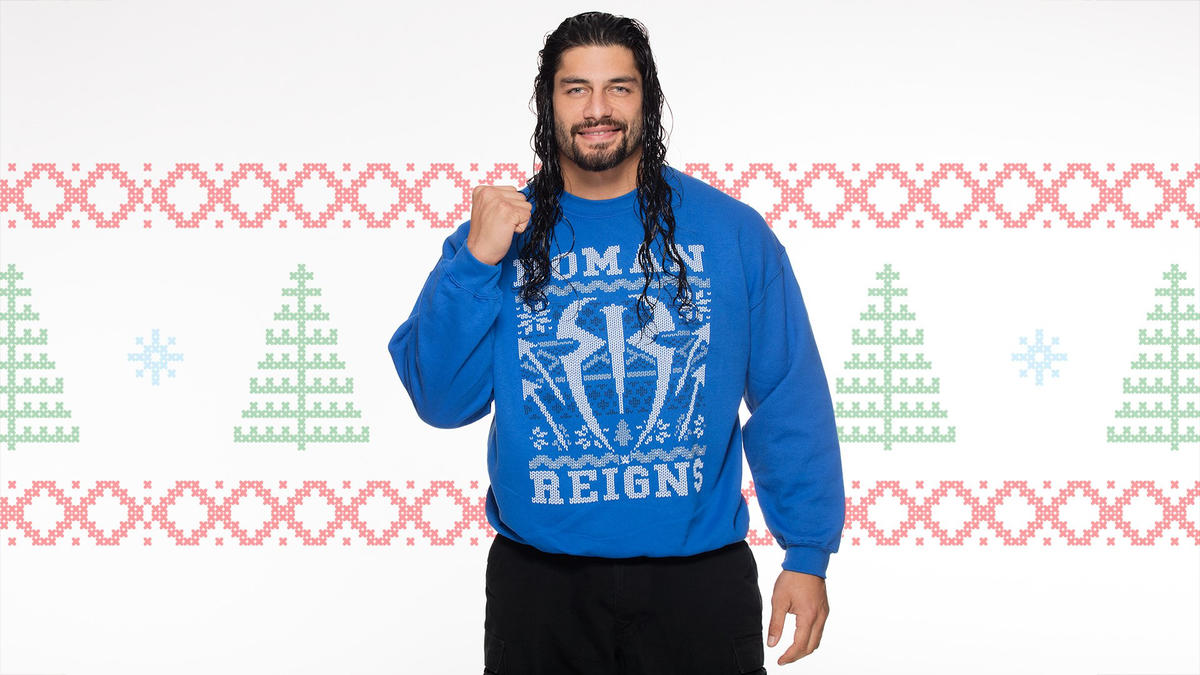 Superstars and Divas wear ugly Christmas sweaters: photos   WWE