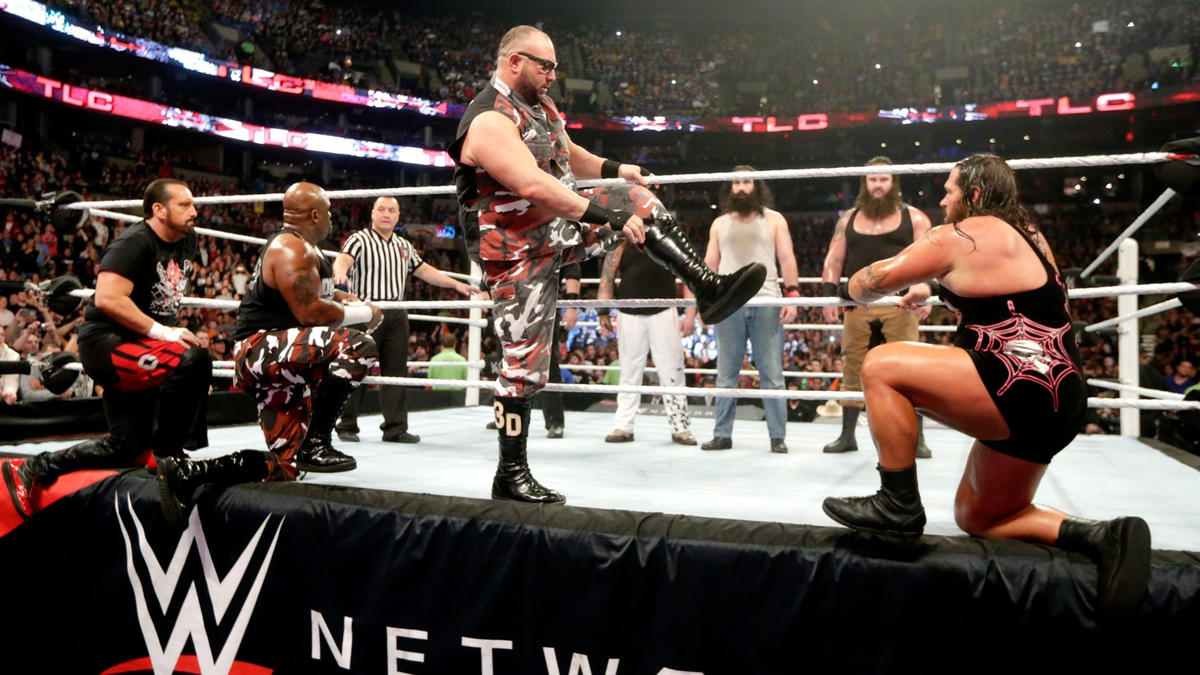 The Dudley Boyz, Tommy Dreamer & Rhyno vs. The Wyatt Family - 8 ...