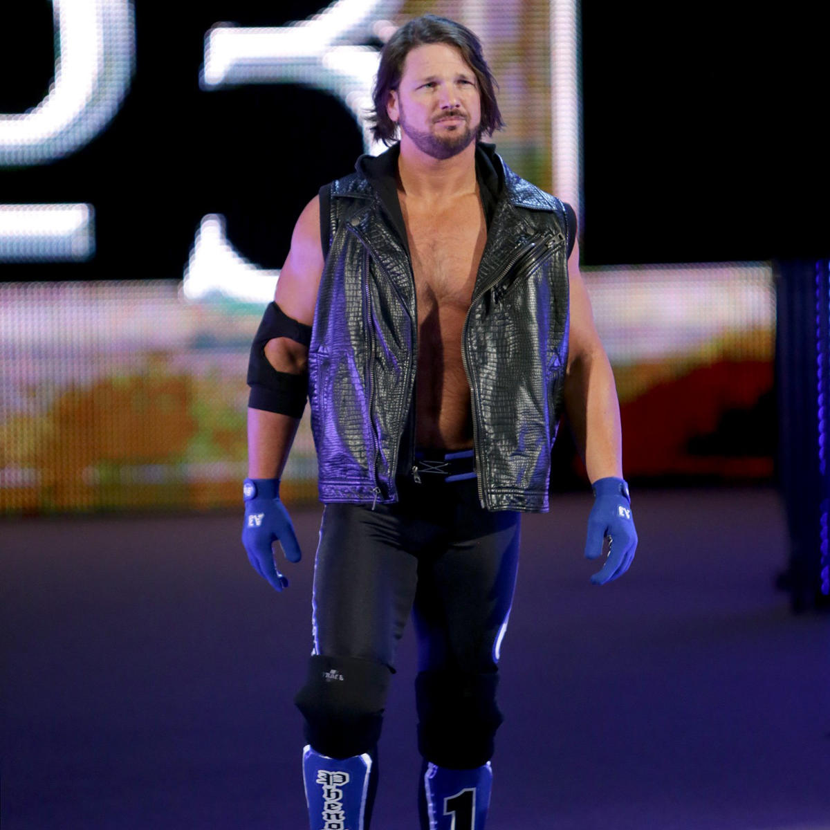 """""""The Phenomenal One"""" AJ Styles makes his highly-anticipated WWE debut as the third entrant in the Royal Rumble Match."""