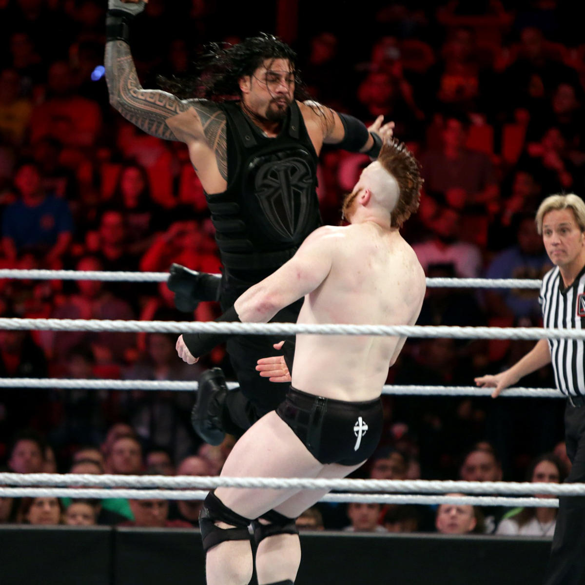 Roman Reigns Dean Ambrose Vs The League Of Nations Photos Wwe