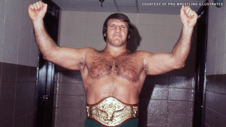 Bruno Sanmartino during his 8 year reign