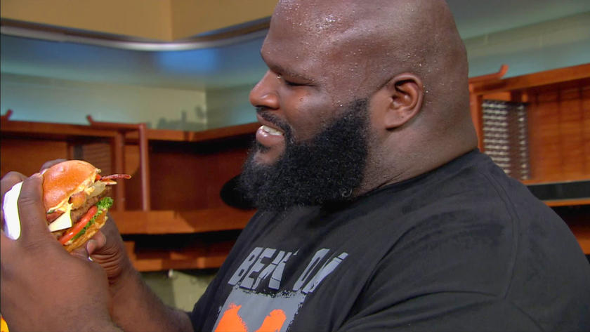 Mark Henry Eating Poop Filled Sandwich Prank