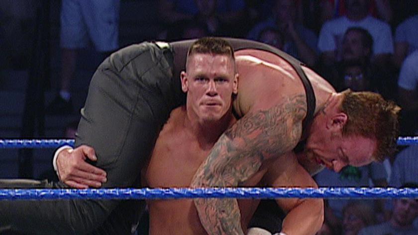 The Undertaker vs. John Cena: Vengeance 2003 | WWE