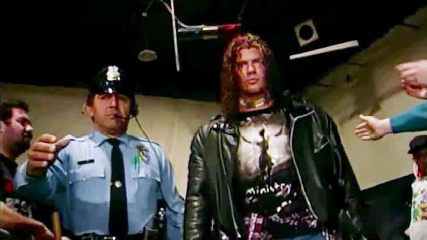 Stevie Richards finally unveils Raven to ECW: Hardcore TV - January 10,1995  | WWE