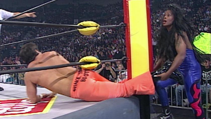 Jacqueline vs. Disco Inferno: Halloween Havoc 1997   WWE