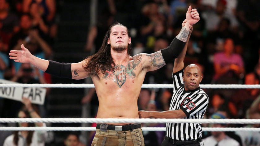 Has Corbin finally put his problems with Ziggler behind him?