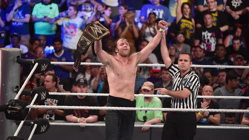 Despite Dolph Ziggler's best efforts, Dean Ambrose retains the WWE World Championship.