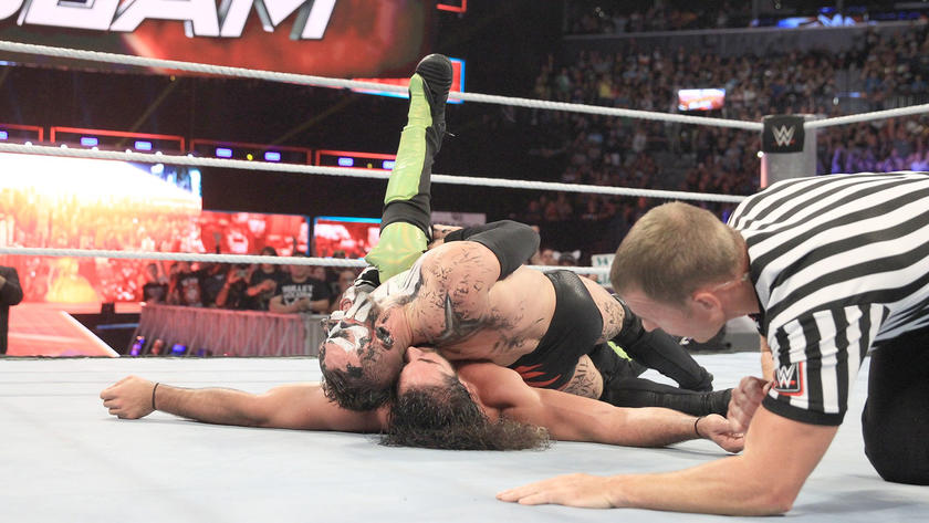 Bálor seals the win with a dropkick, stomp and Coup de Grace.