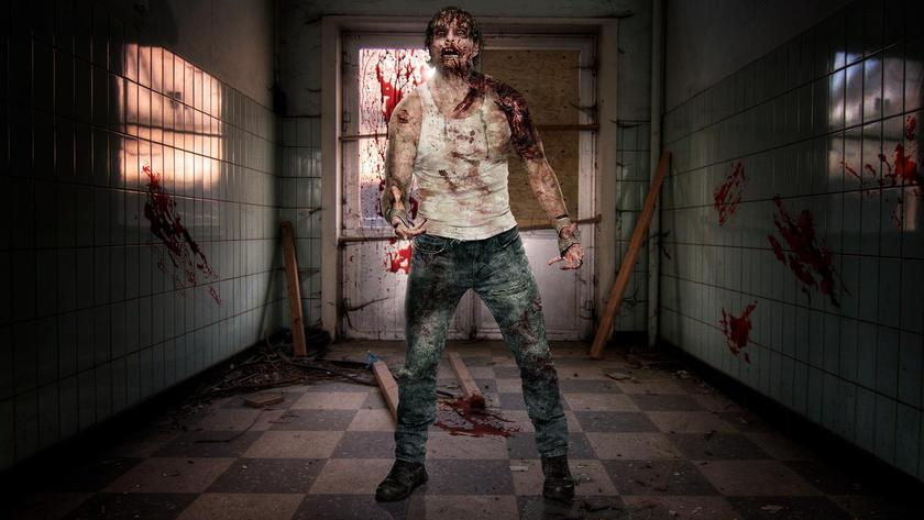 Фотосет: Рестлеры - зомби