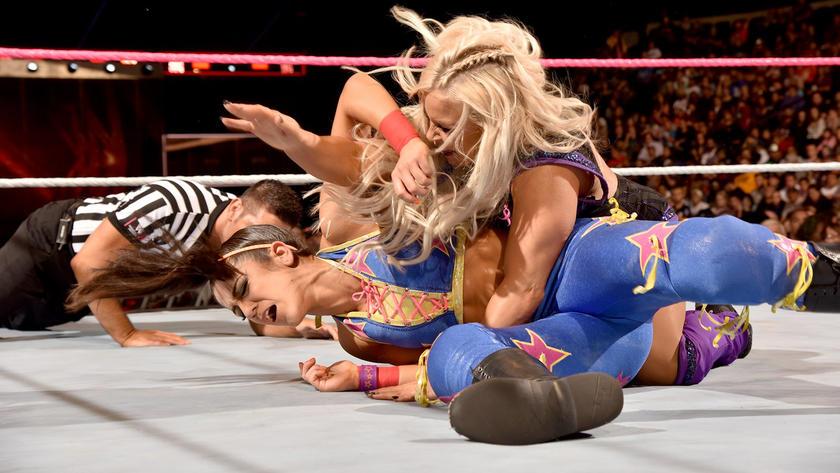 Pro wrestling camel toe think