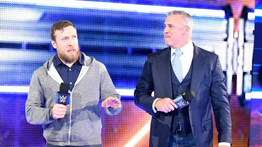 SmackDown LIVE General Manager Daniel Bryan and Commissioner Shane McMahon welcome the WWE Universe to the 900th episode of SmackDown LIVE.
