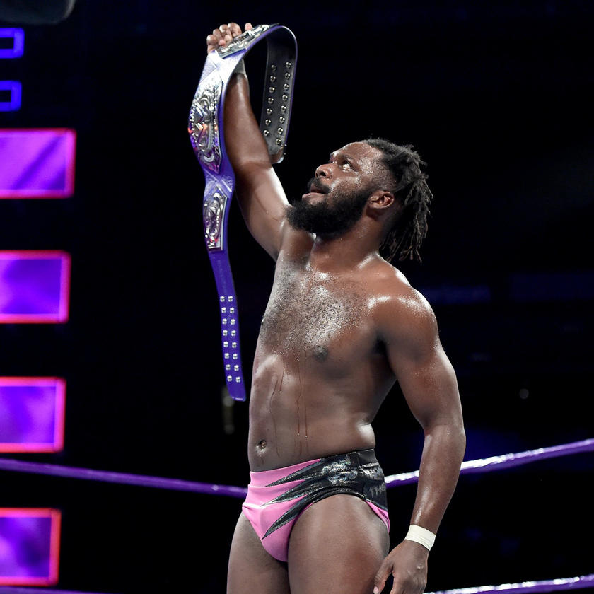 Rich Swann defeated The Brian Kendrick to win his first WWE Cruiserweight Championship.
