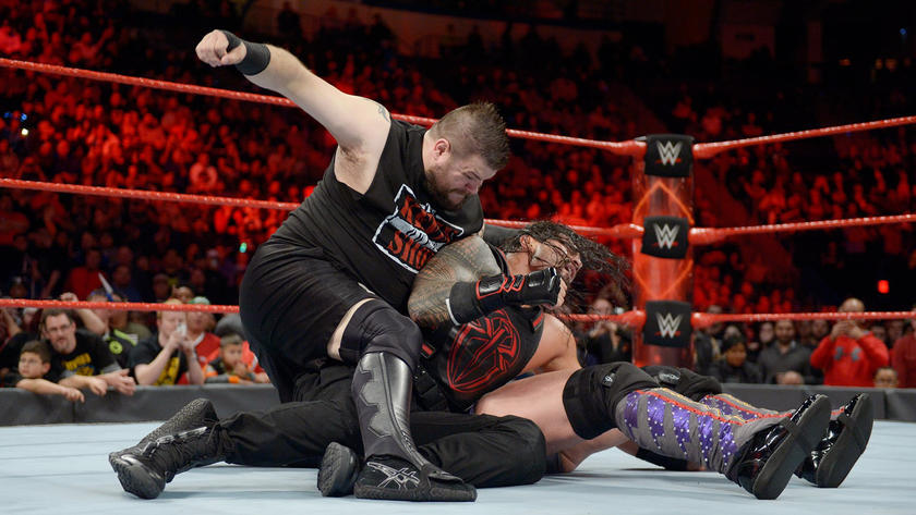 Owens interferes after Reigns spears Jericho, and Jeri-KO double-teams the U.S. Champion.