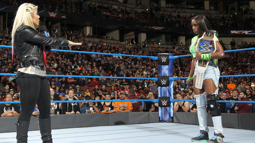 The Wicked Witch of WWE says Naomi made up her injury.