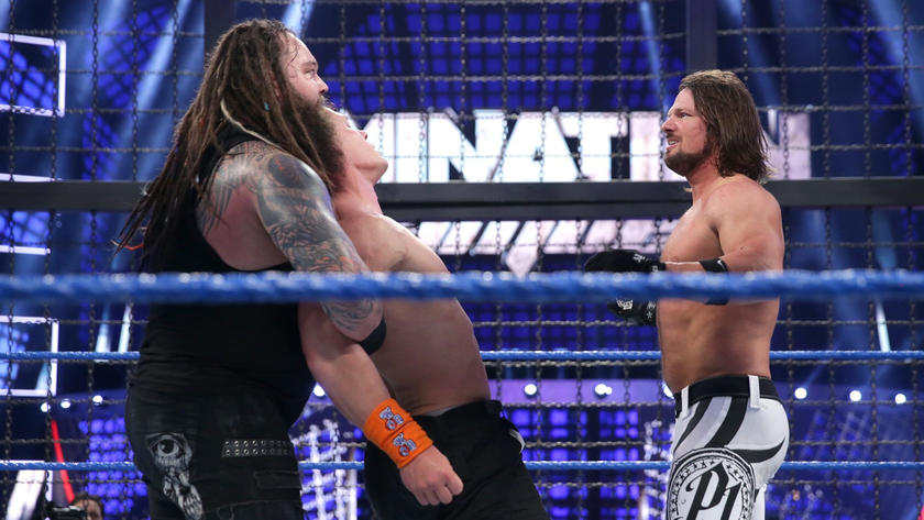 Wyatt and Styles pool together their resources in an effort to eliminate Cena.