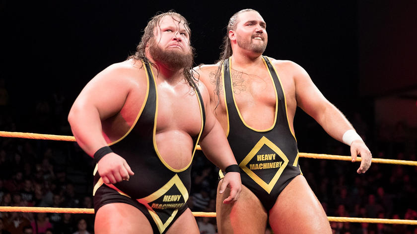 Image result for heavy machinery wwe""