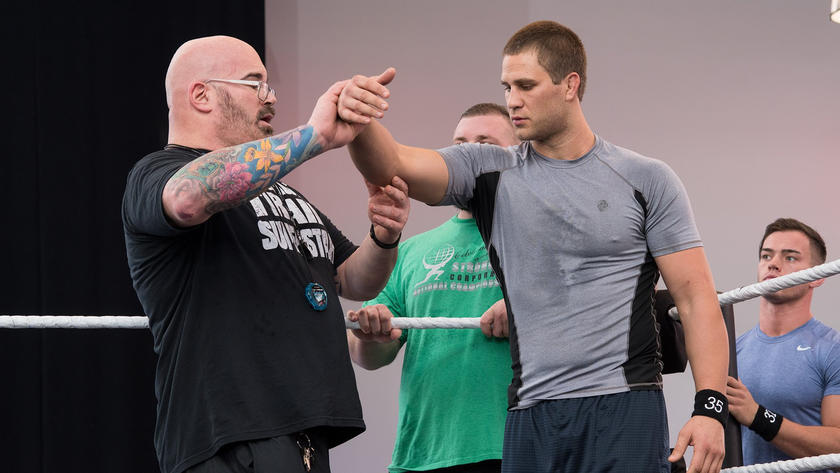 Independent wrestling standout Austin Theory, former UFC