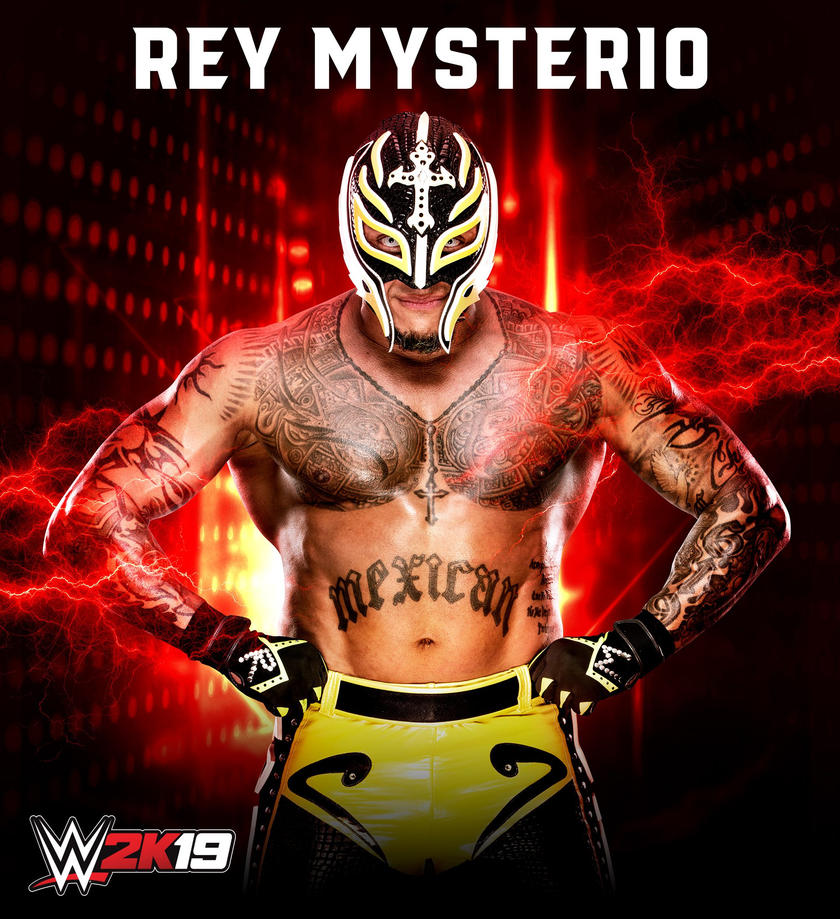 Rey Mysterio announced as first WWE 2K19 Pre-Order Bonus