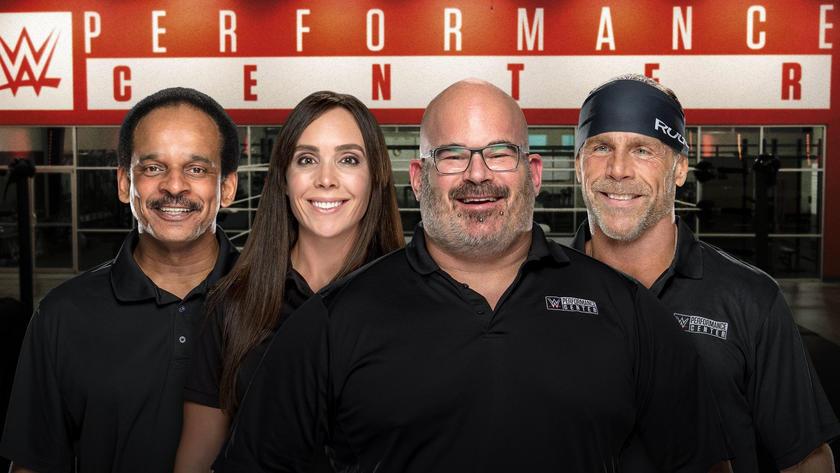 wwe.com - Meet the WWE Performance Center coaches