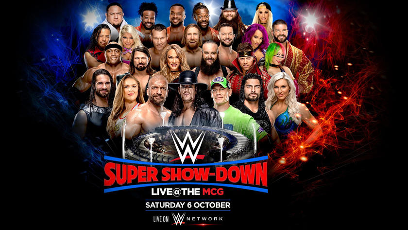 Wwes Biggest Stars Come To Australia For Wwe Super Show Down On